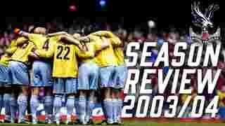 Crystal Palace Season Review 2003-2004