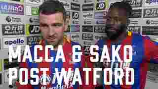 James McArthur & Bakary Sako   Post Watford