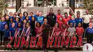 Wilfried Zaha & Jordan Butler | Zumba Rumba
