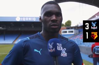 Christian Benteke post-match interview | Watford