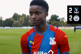 David Obou talks about his first goal for the U18s