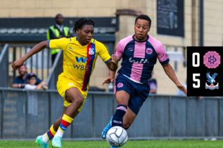 U23 Match Highlights: Dulwich Hamlet 0-5 Crystal Palace