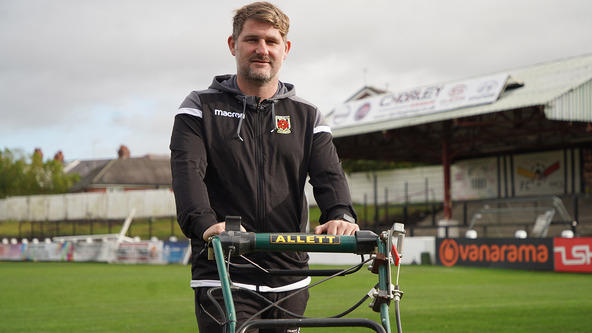 Wigan Athletic Fc Chorley Fc S Facilities Manager Ben Kay Tells His Story From The Training Pitches At Christopher Park To Rubbing Shoulders With Andy Liddell A Glittering Non League Career And His