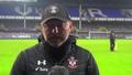 Video: Hasenhüttl's Everton reaction
