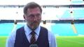 Video: Hasenhüttl on Man City stalemate