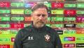 Video: Hasenhüttl on Brentford defeat