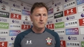 Video: Hasenhüttl pleased with United point
