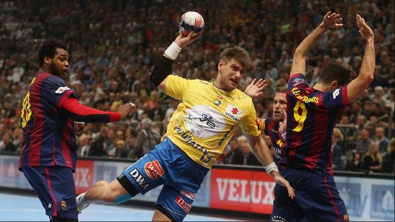 Semi-finals: FC Barcelona - KS Vive Tauron Kielce