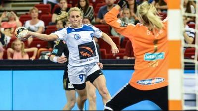 Semi-finals: Larvik - Dinamo Sinara