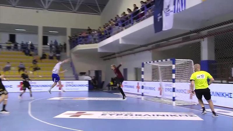 Ystads IF v AEK Athens HC - Match Highlights - Final-2