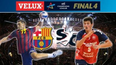 Semi-finals: FC Barcelona - SG Flensburg-Handewitt