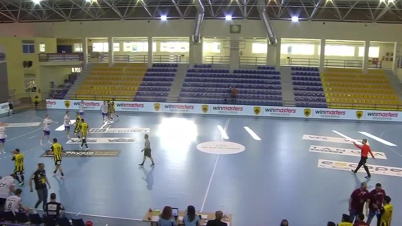 Final-1: AEK Athens HC v Ystads IF