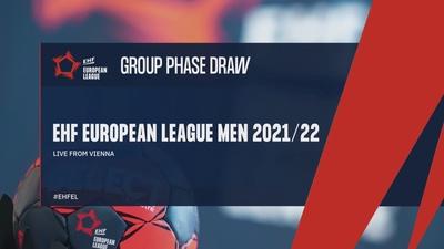 EHF European League Men 2021/22 - Group Phase Draw