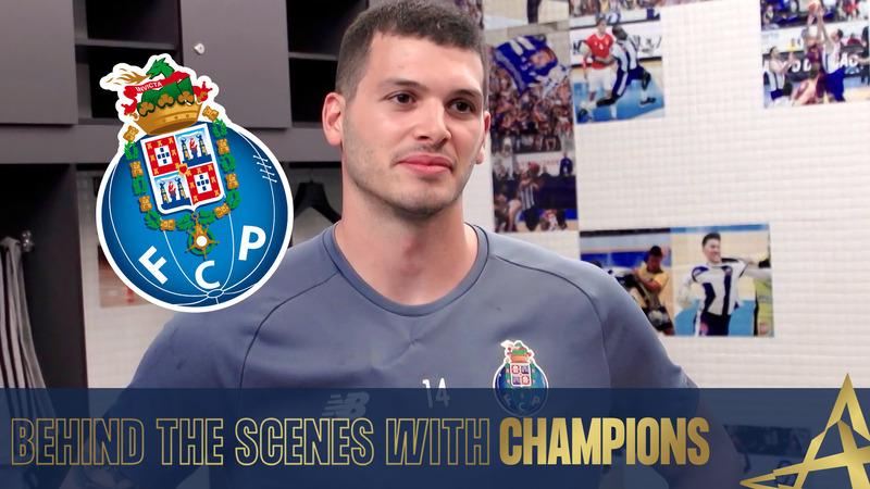 Behind the scenes with Champions - Rui Silva