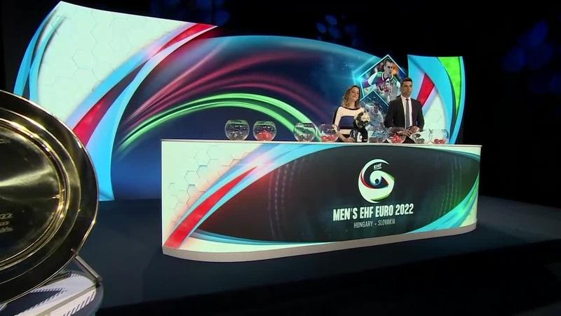 Men's EHF EURO 2022 Final Tournament Draw