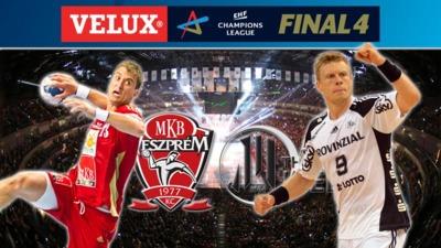 Semi-finals: MKB-MVM Veszprém KC - THW Kiel