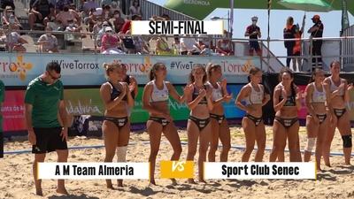 A M Team Almería v SPORT CLUB Senec - Match Highlights - Semi-final