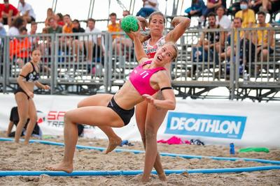 Semi-finals: LV Sport Multichem Szentendrei NKE v GEA A.M. Team Almería