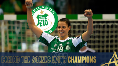 Behind the scenes with Champions - Eduarda Amorim