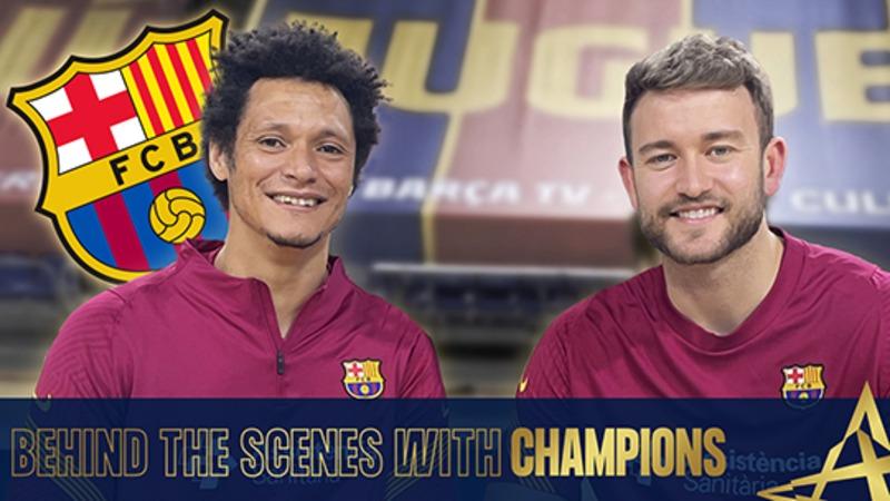 Behind the scenes with Champions - Petrus & Perez de Vargas