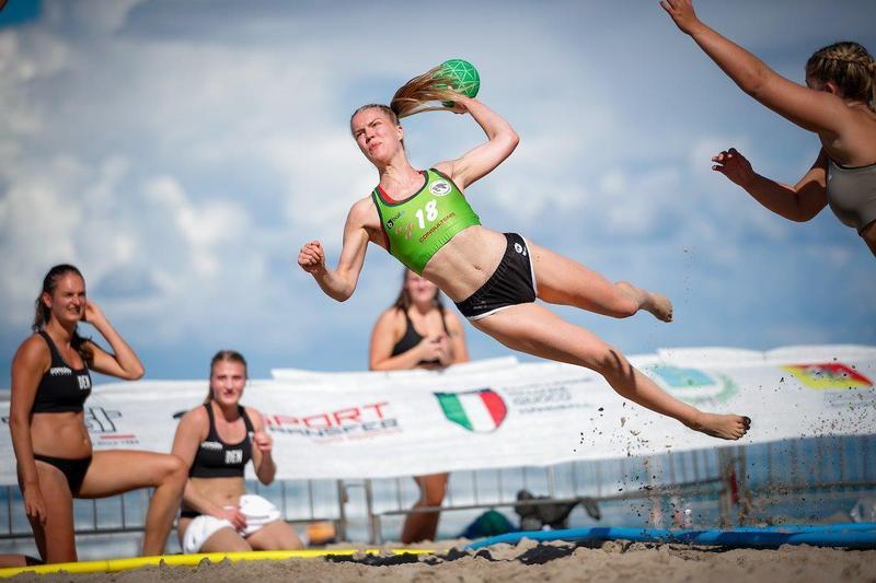 Minga Turtles v Hadsten Beach Handball