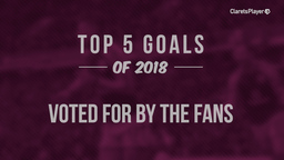 TOP 5 | Goals Of 2018 - Voted For By The Fans