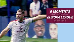 5 MOMENTS   Europa League