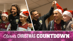 GIFTS, SMILES & LAUGHS | Burnley Stars Visit Local Hospitals