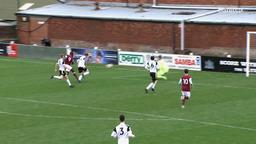 THE GOALS   Burnley U23s v Fulham U23s