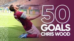 ALL 50 GOALS   Chris Wood