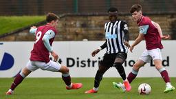 THE GOALS   Burnley U23s v Newcastle U23s