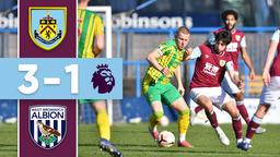 HIGHLIGHTS   Burnley U23s v West Brom U23s   Premier League 2