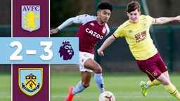 HIGHLIGHTS   Aston Villa U23s v Burnley U23s