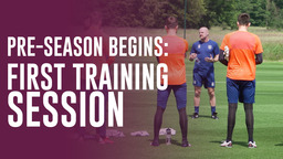 PRE-SEASON BEGINS   First Training Session