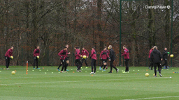 TRAINING EXTENDED | Clarets' Focus Turns To Newcastle