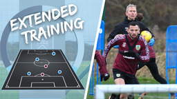 TRAINING EXTENDED | Lads Back To Work Following Palace Win