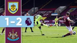 Newcastle Comeback   HIGHLIGHTS   Burnley v Newcastle