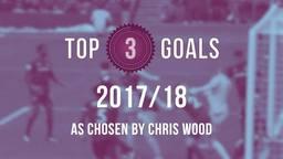 WOOD | Top 3 Goals of 2017/18