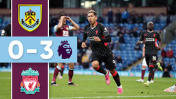 HIGHLIGHTS | Burnley v Liverpool 2020/21