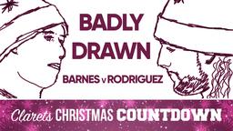SUCH A BAD DRAWING!  | BADLY DRAWN | Ashley Barnes v Jay Rodriguez