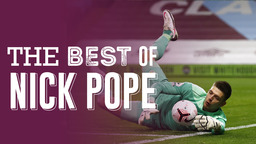 THE BEST OF   Nick Pope