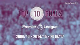 TOP 10 | Premier League Goals 2009-2017