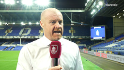 REACTION   Dyche On Monday Night Defeat